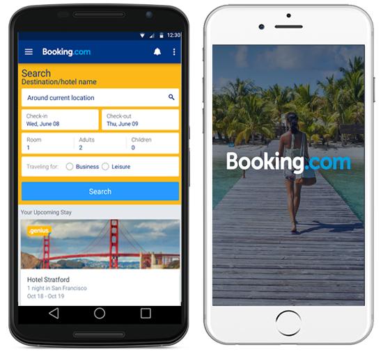 Booking.com Mobile App