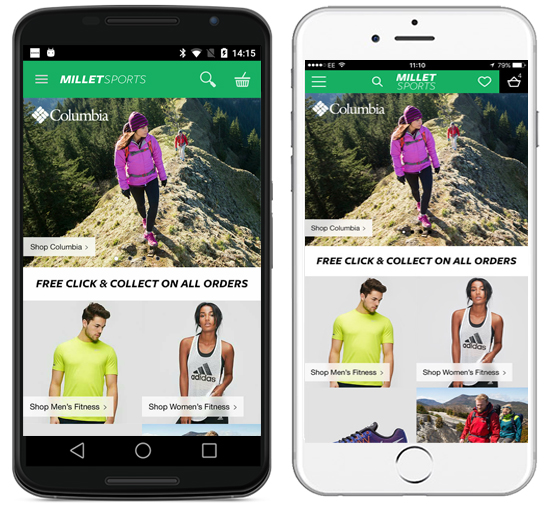 Millet Sports Mobile App