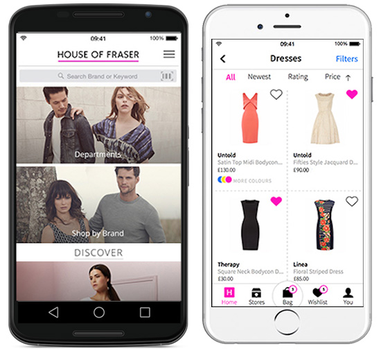 house-of-fraser-mobile-app